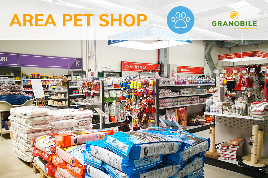 pet shop animali da compagnia